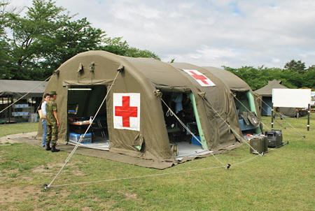 Temporary-military-medical-tent